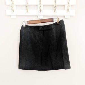 DKNY Vintage 90's Pleated Wrap Mini Skirt Size 6